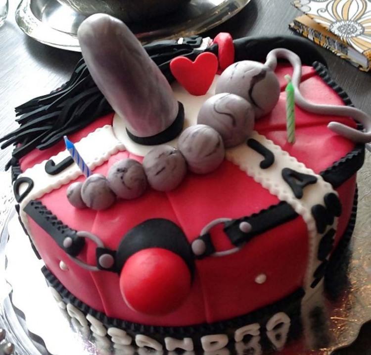 Фото прикол  про торт, бдсм вульгарний
