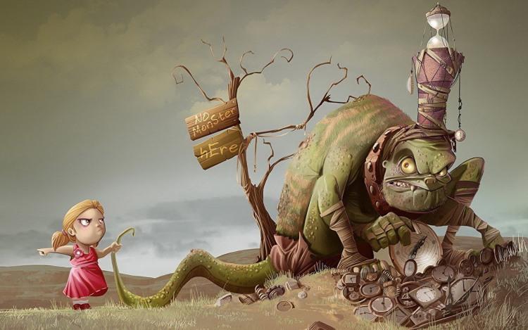 Малюнок  про чудовисько