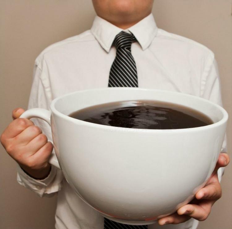 Фото прикол  про чашку та каву