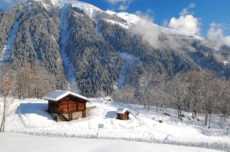 Фото прикол  про мою хату з краю та зиму