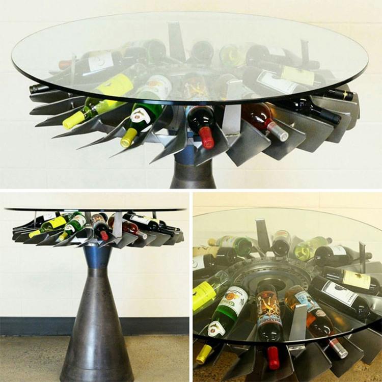 Фото прикол  про стіл та вино