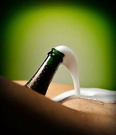 Фото прикол  про шампанське вино, інтимний вульгарний