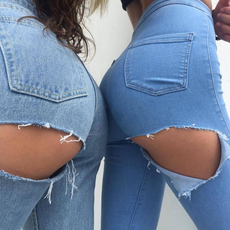 Фото прикол  про джинси, дірку та сідниці