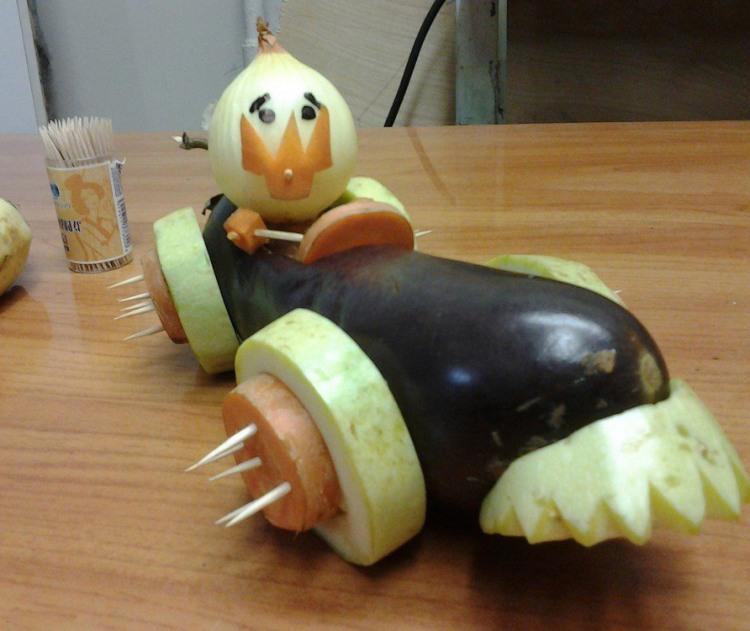 Фото прикол  про овочі