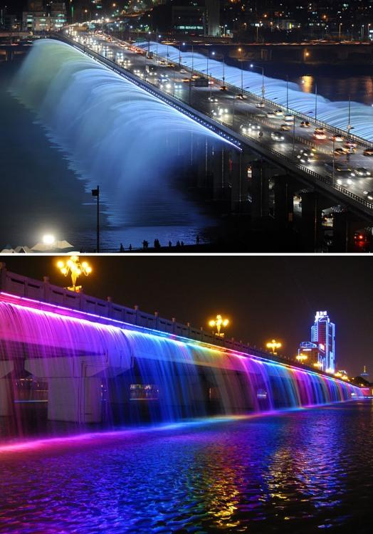 Фото прикол  про міст та фонтан