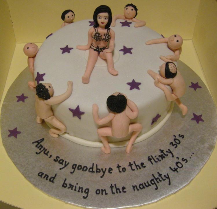 Фото прикол  про торт вульгарний