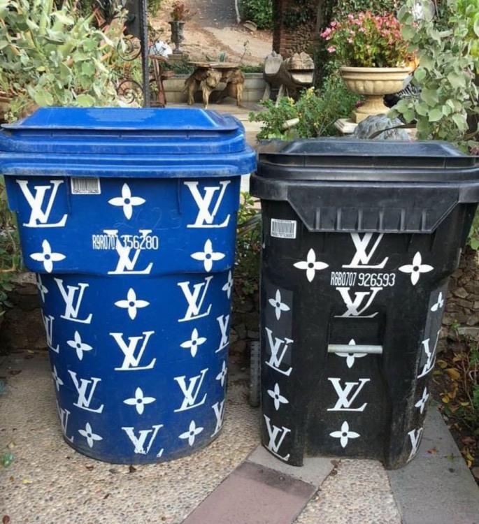 Фото прикол  про сміттєвий бак
