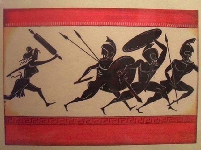 Малюнок  про греків