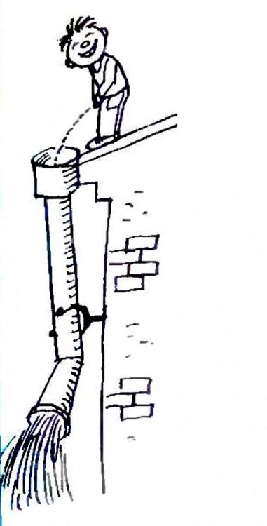 Малюнок  про сечовипускання, дітей журнал перець