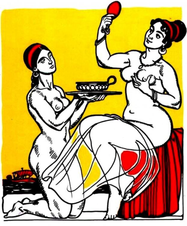 Малюнок  про енеїду вульгарний