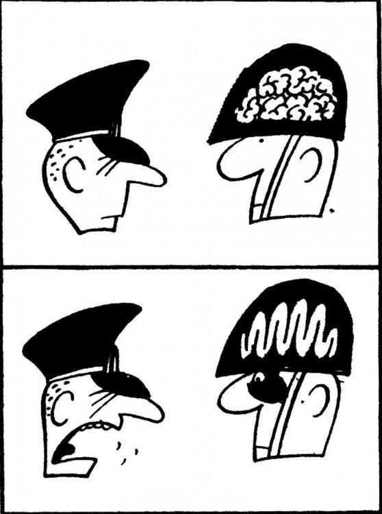 Малюнок  про армію, мозок журнал перець