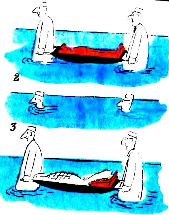 Малюнок  про санітарів, крокодилів, чорний журнал перець