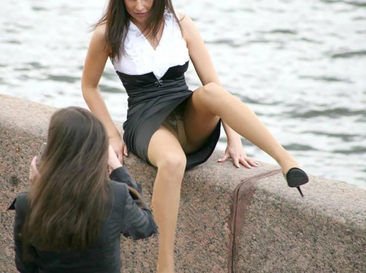 Фото прикол  про дівчат, труси, засвітила вульгарний