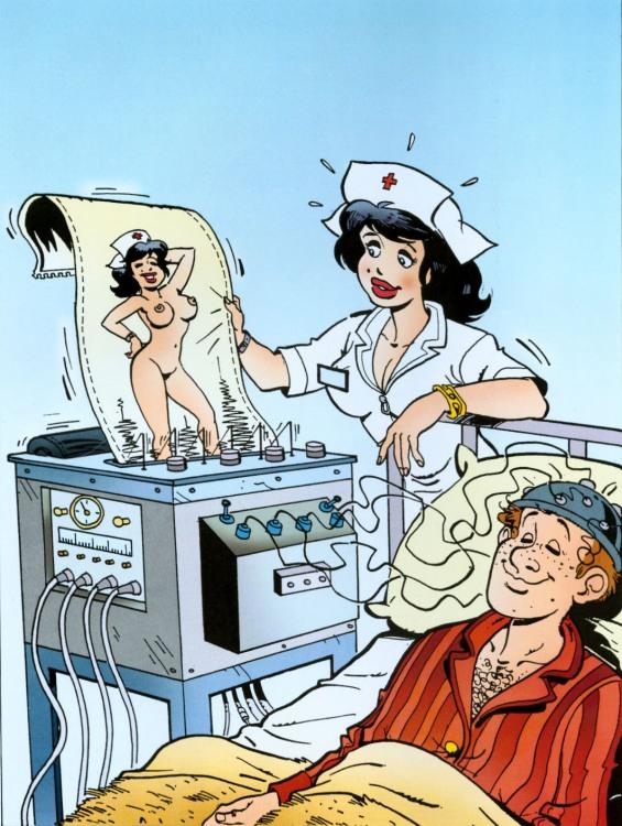 Малюнок  про лікарню, пацієнтів вульгарний