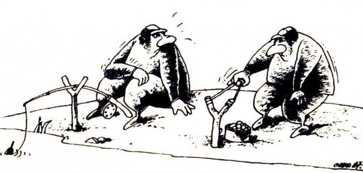 Малюнок  про рибалок журнал перець