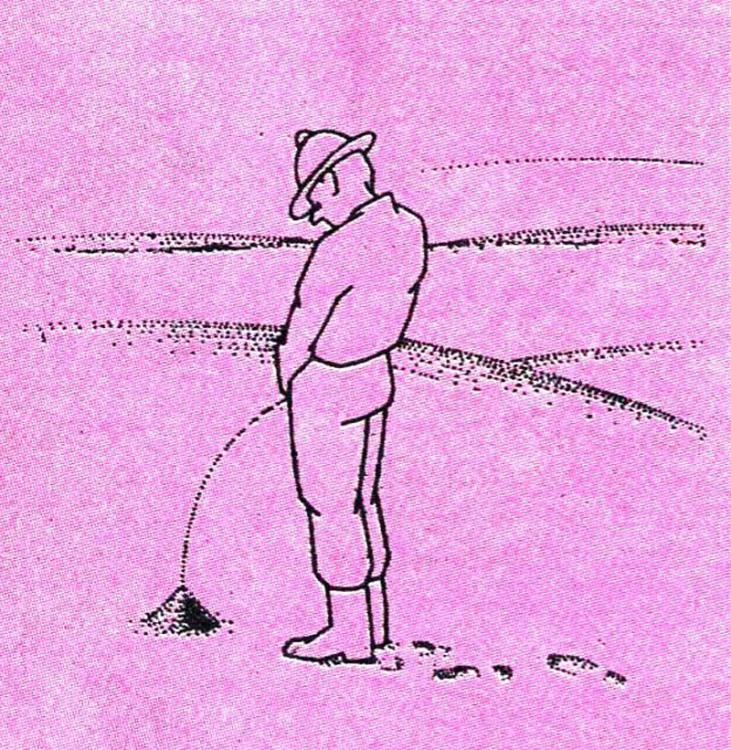 Малюнок  про пісок, пустелю, сечовипускання журнал перець