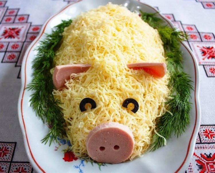 Фото прикол  про свиней та їжу