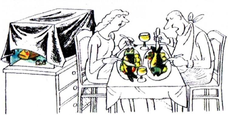 Малюнок  про рибу, акваріум журнал перець