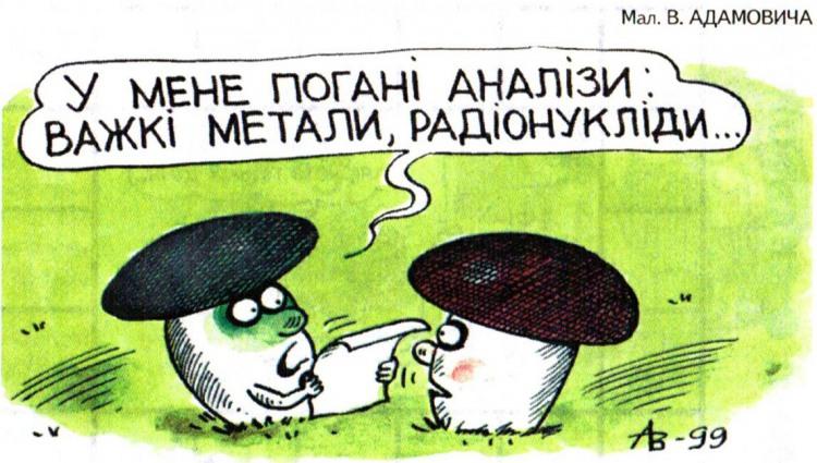 Малюнок  про гриби, аналізи журнал перець