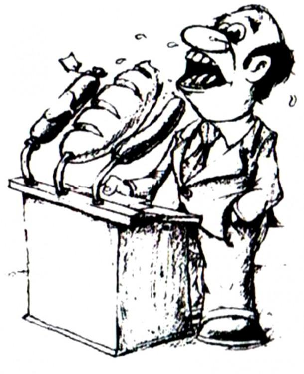 Малюнок  про хліб, ораторів журнал перець