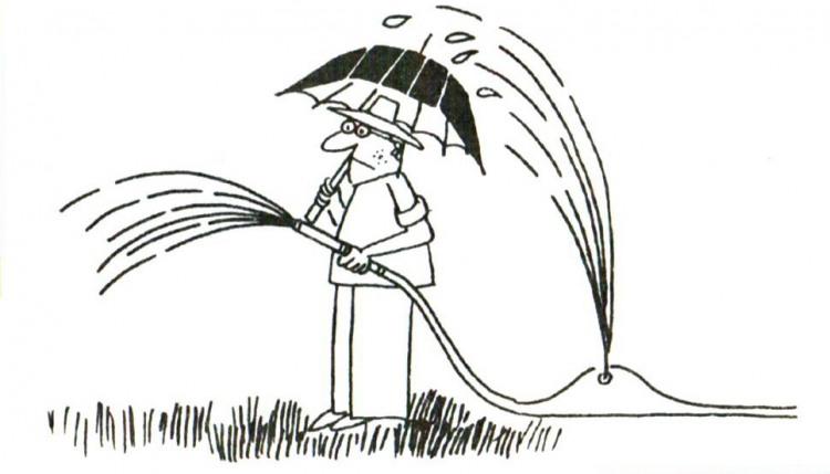 Малюнок  про парасольку журнал перець