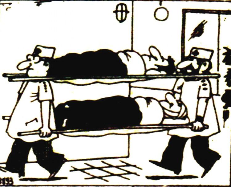 Малюнок  про санітарів журнал перець