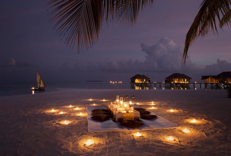 Фото прикол  про романтику та пляж