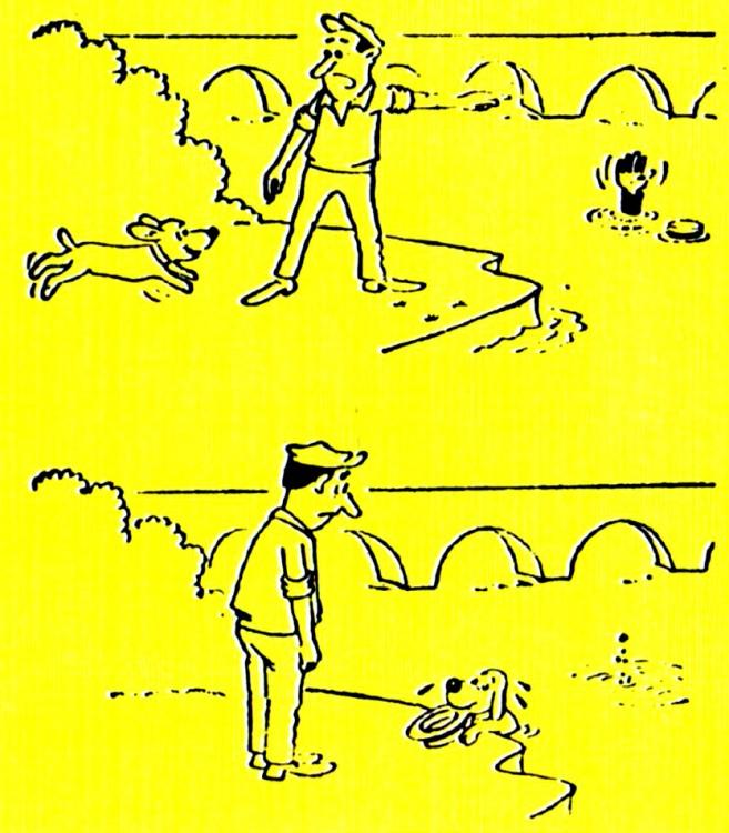 Малюнок  про потопаючих, собак, чорний журнал перець