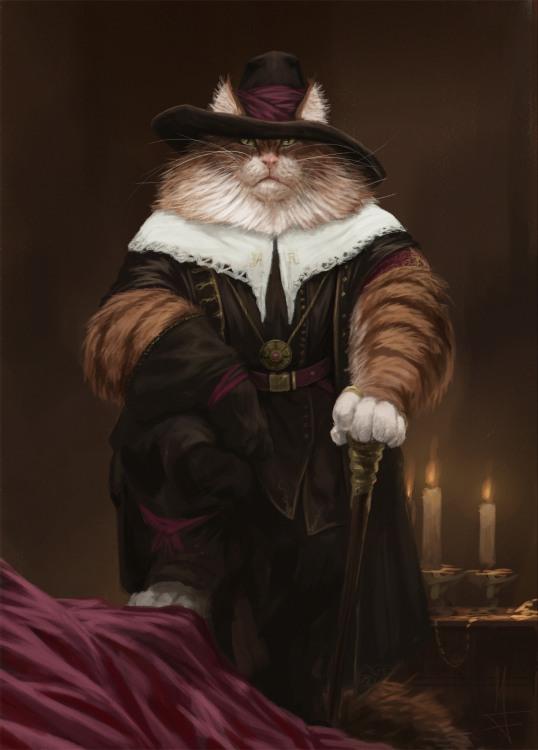 Малюнок  про котів