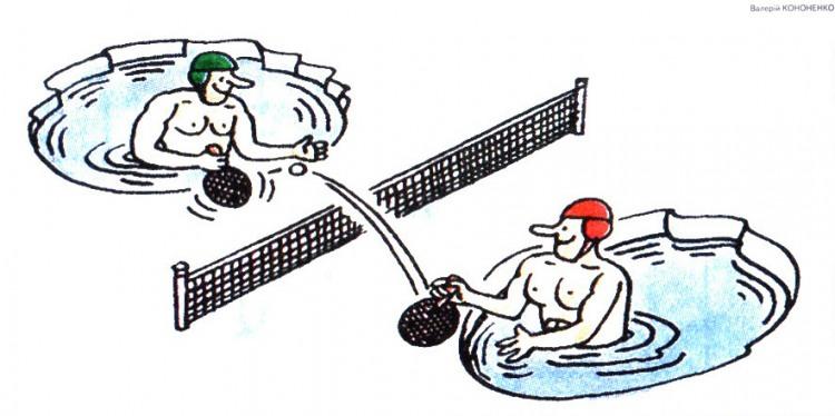 Малюнок  про теніс, лід журнал перець