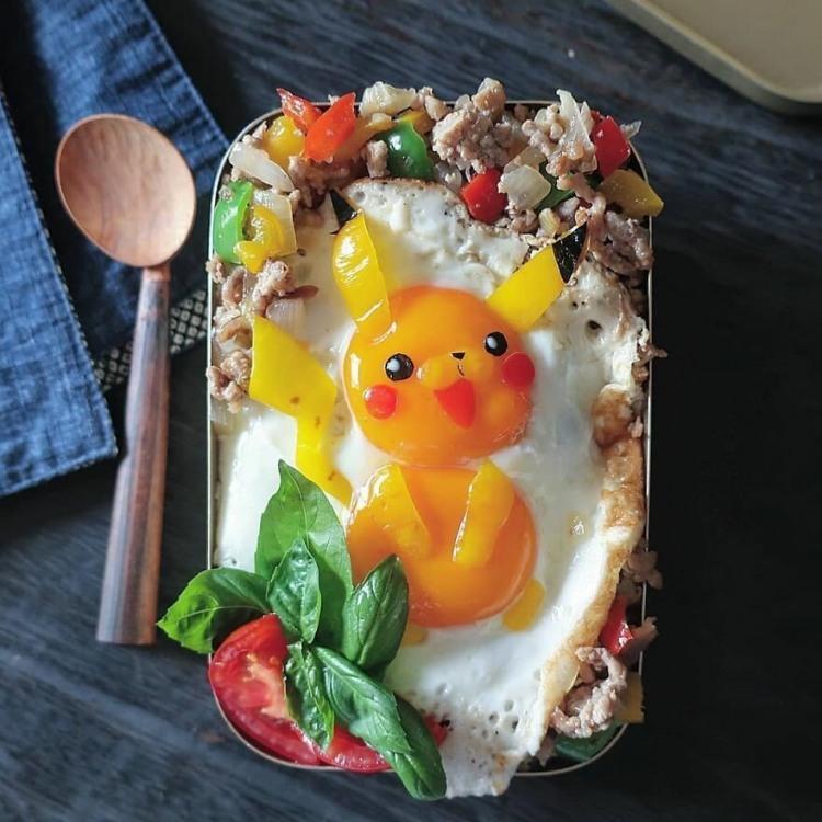 Фото прикол  про їжу та яйця