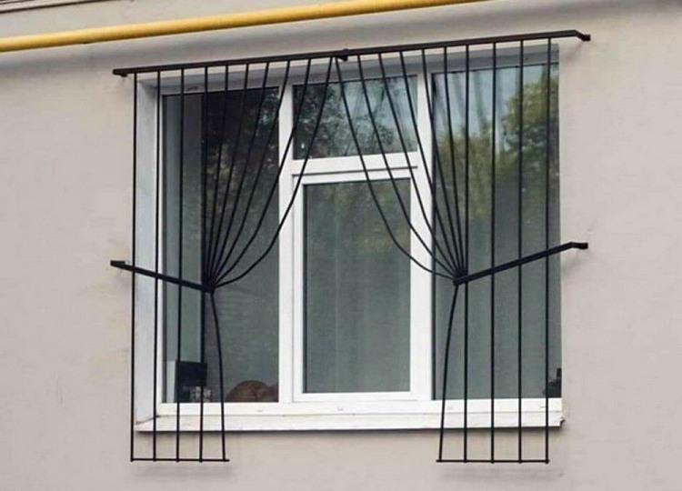 Фото прикол  про вікна та штори