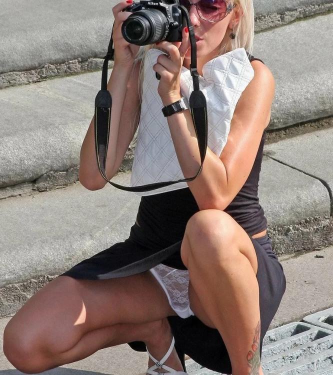 Фото прикол  про фотографів, засвітила вульгарний