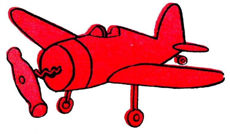 Малюнок  про літаки, штопор журнал перець