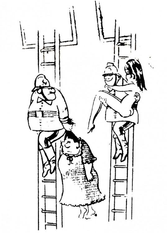 Малюнок  про пожежних журнал перець