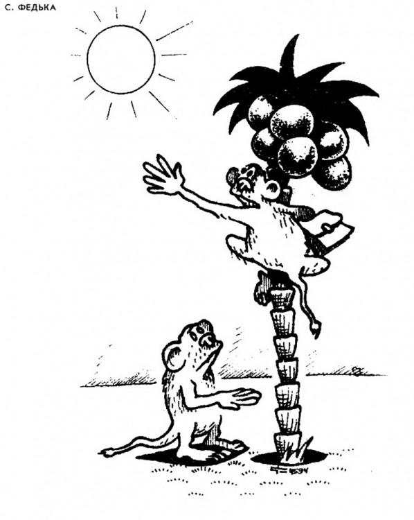 Малюнок  про мавп, сонце журнал перець