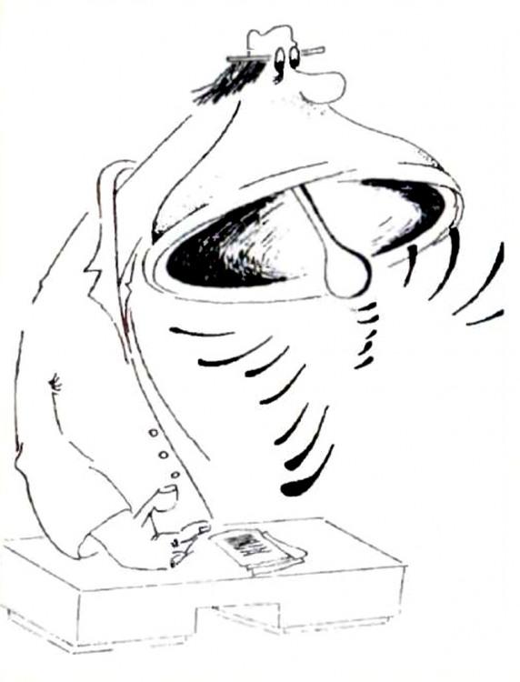 Малюнок  про балакучість журнал перець