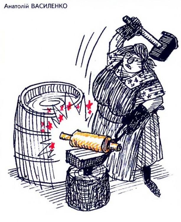 Малюнок  про качалку журнал перець
