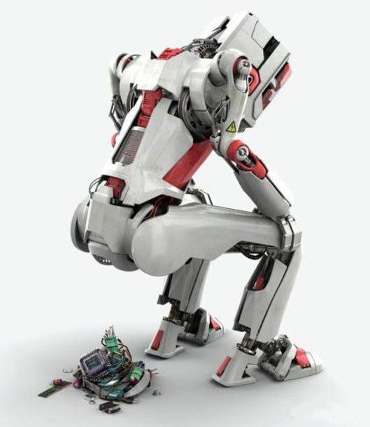 Фото прикол  про роботів