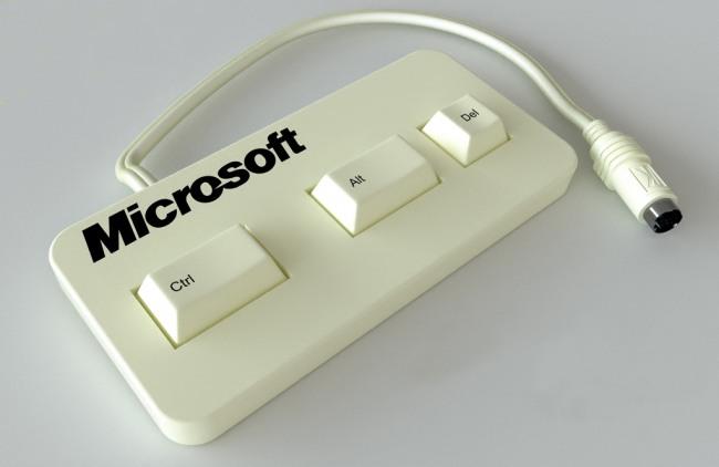 Фото прикол  про клавіатуру та віндоус