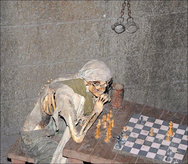 Фото прикол  про шахи чорний