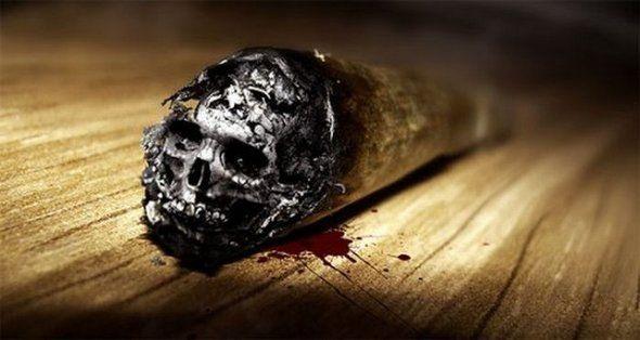 Фото прикол  про сигарети чорний