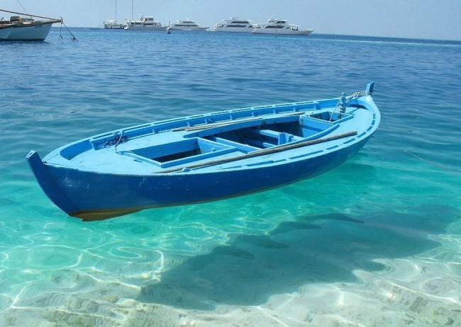 Фото прикол  про човен