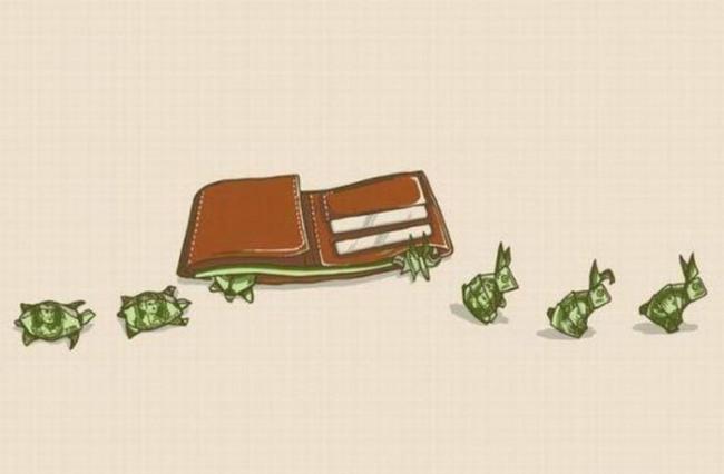 Малюнок  про гроші