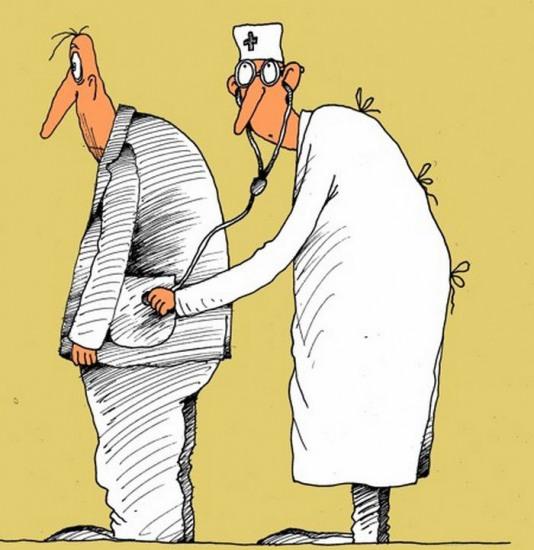 Малюнок  про лікарів та пацієнтів