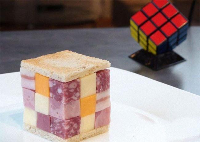 Фото прикол  про їжу та кубик рубіка
