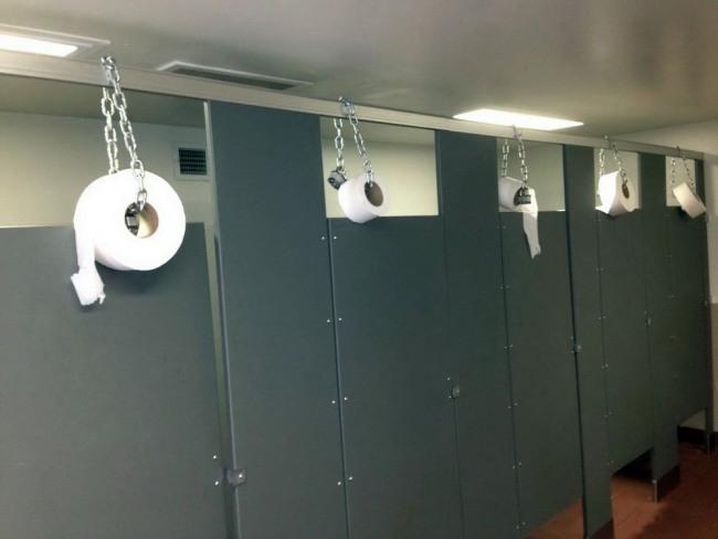 Фото прикол  про туалетний папір