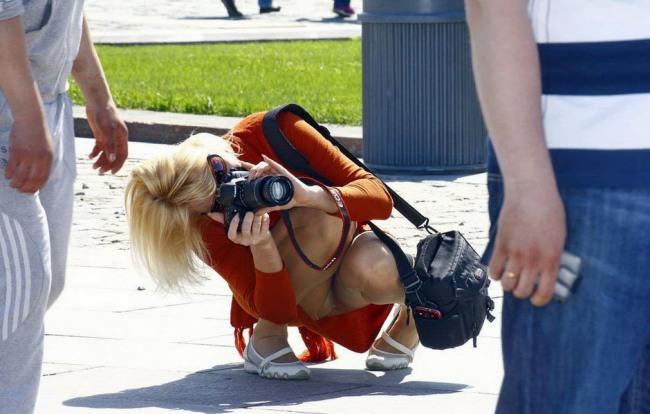 Фото прикол  про фотографів вульгарний