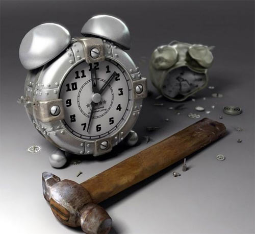 Фото прикол  про годинник