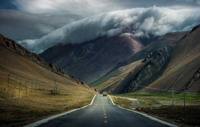 Фото прикол  про хмари та гори